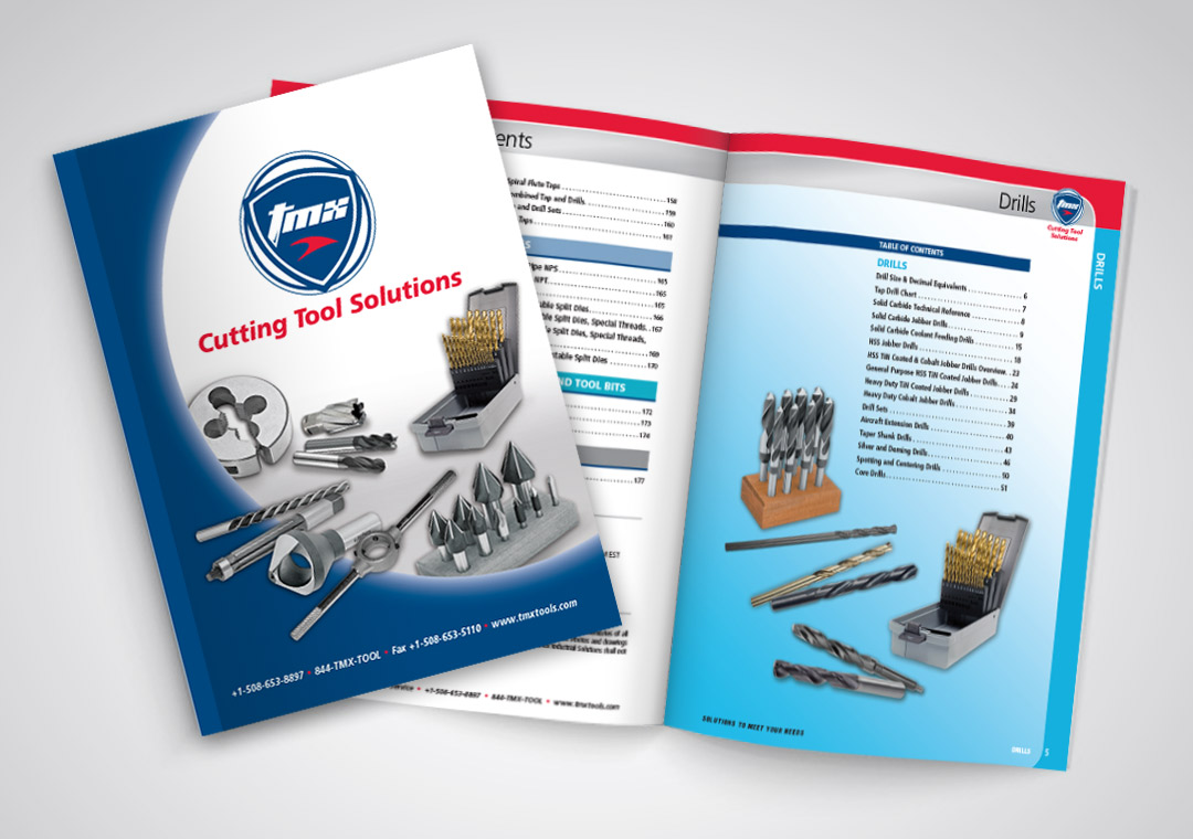 Catalog Cover and Spread