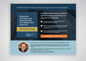 Creative Wealth Landing Page