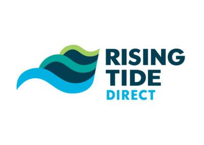 Rising Tide Direct Logo Design