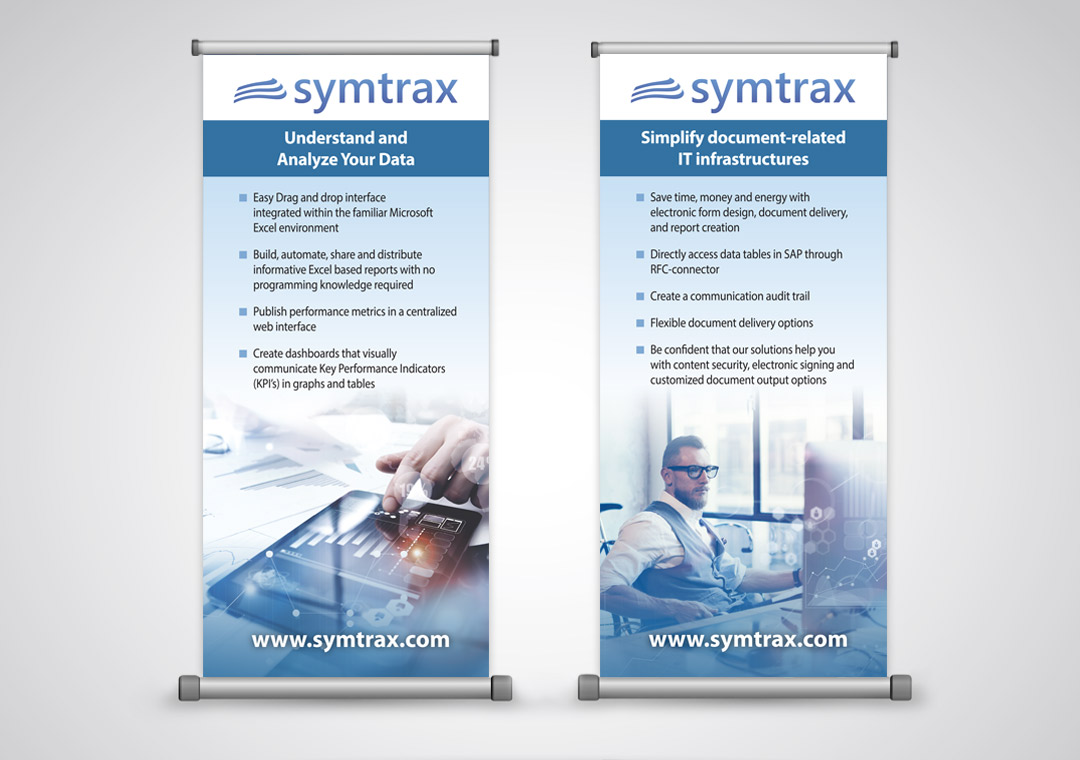 Symtrax Popup Banners
