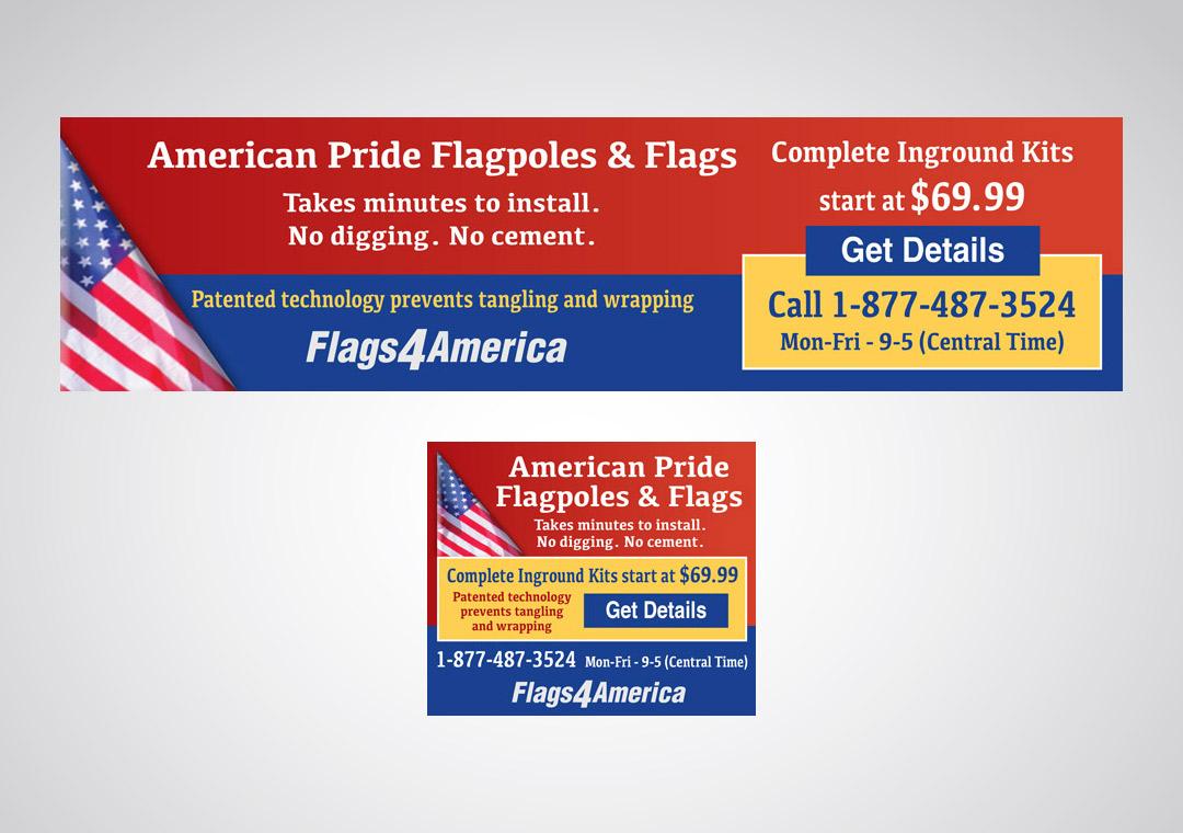 Flags4America Ads